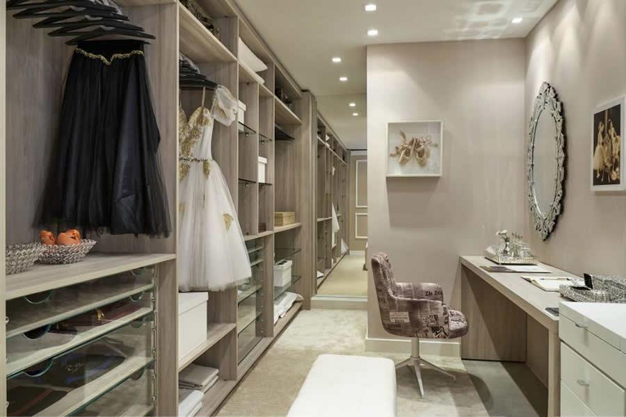 Closet com Carpete