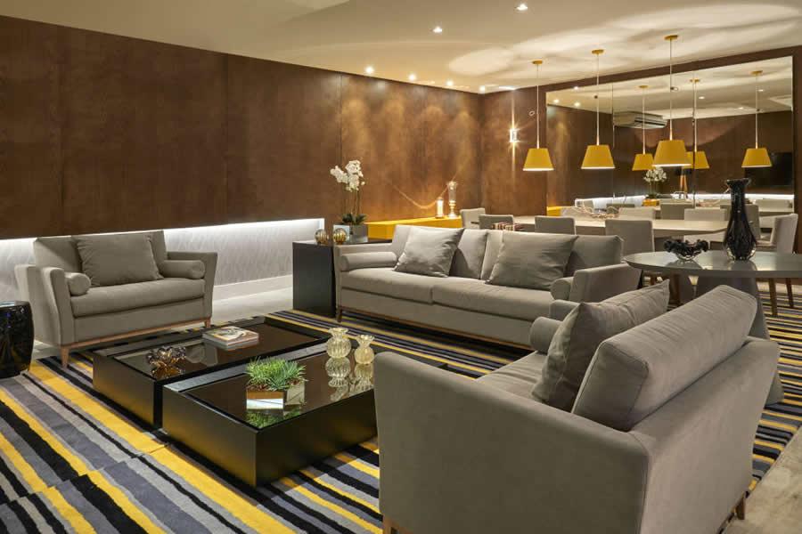 Sala de estar clean moderna id ias for Salas de television modernas