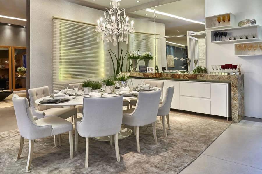 Diferenca De Copa E Sala De Jantar ~ Sala de Estar Integrada com a Sala de Jantar