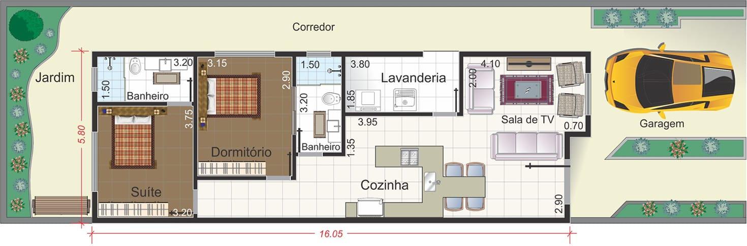 de casa moderna - Projetos de Casas, Modelos de Casas e Fachadas de