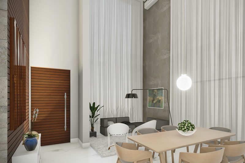Sala mobiliada