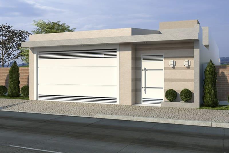 Planta de casa com ed cula projetos de casas modelos de for Casa moderna 64