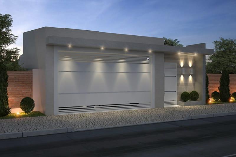 Planta de casa com ed cula projetos de casas modelos de Plantas baratas de exterior