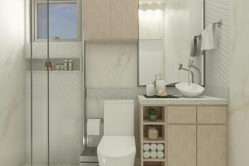 Banheiro simples
