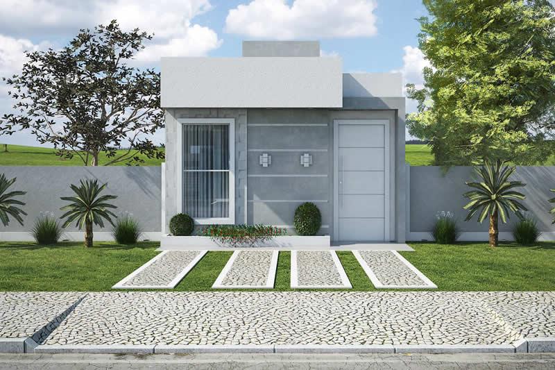 Planta minha casa minha vida pequena projetos de casas for Casas modernas de 70m2