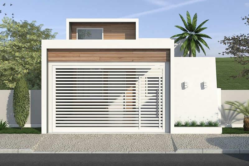 Planta de casa de baixo custo projetos de casas modelos for Casa moderna 7x20