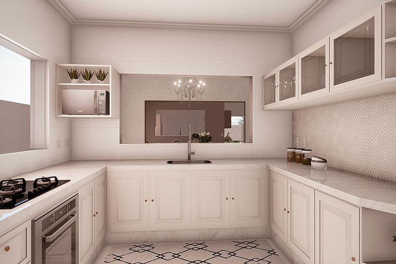 Cozinha neoclássica