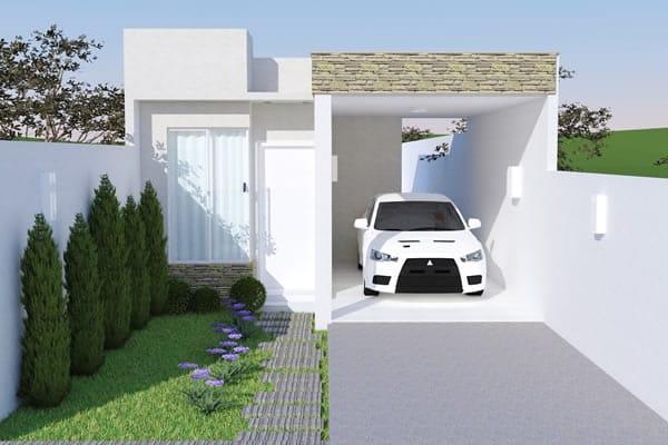 Casa para um carro