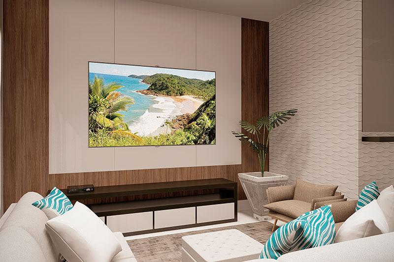 Sala de TV decoração