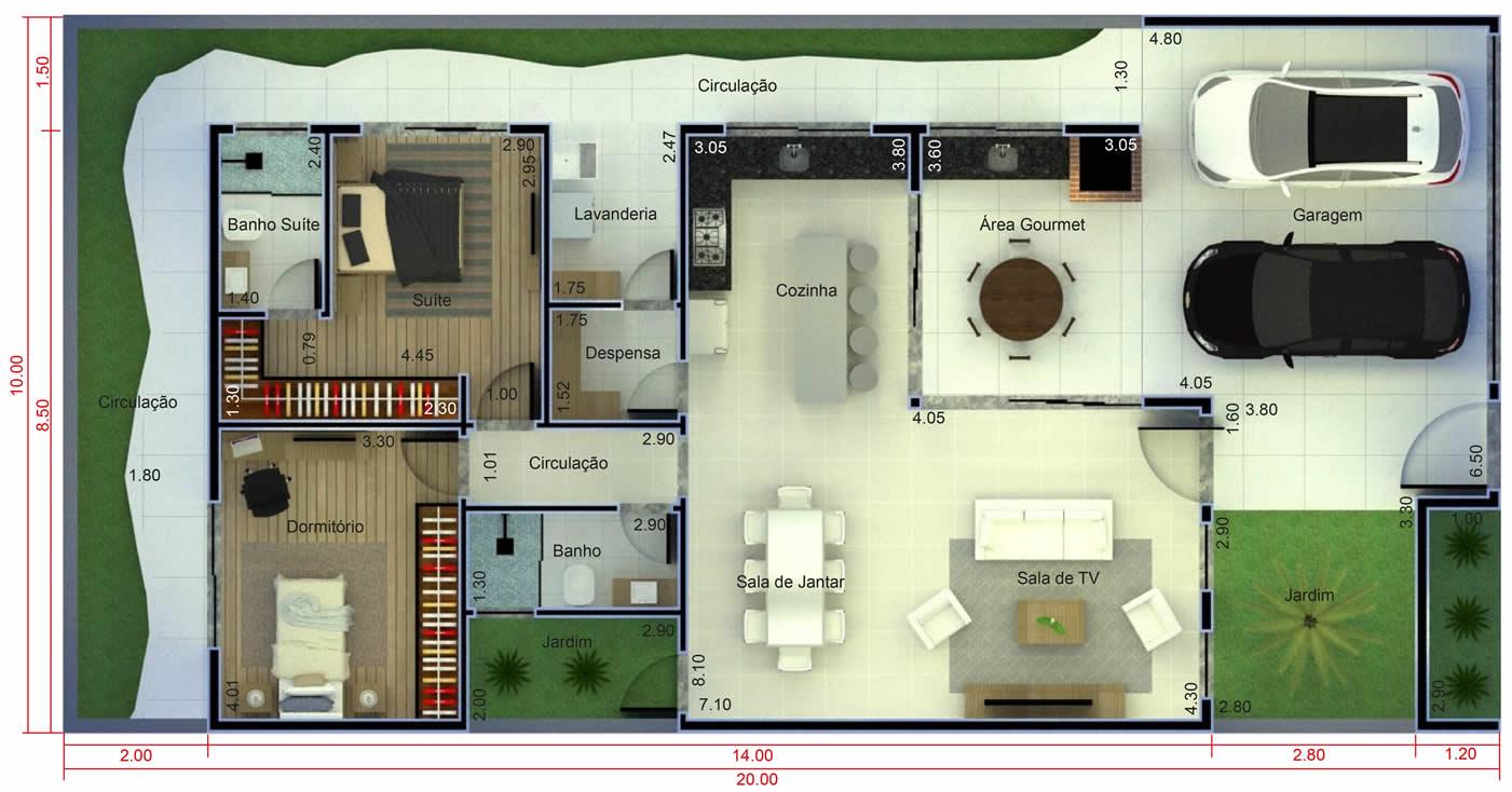 Plantas De Casas Com Cozinha E Sala Integradas Oppenau Info