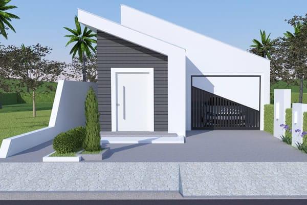 Plantas de casas com 5 quartos for Casa minimalista 2 dormitorios