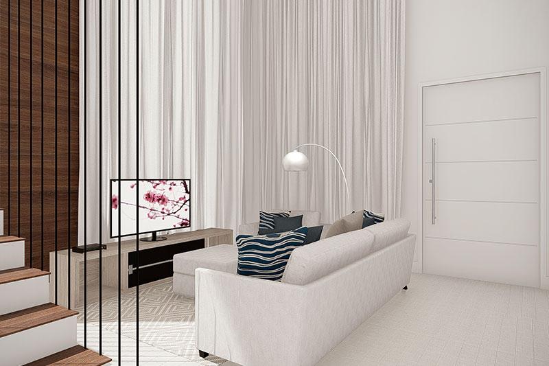Sala de estar clean