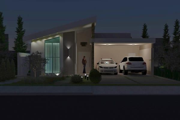Casa residencial térrea simples