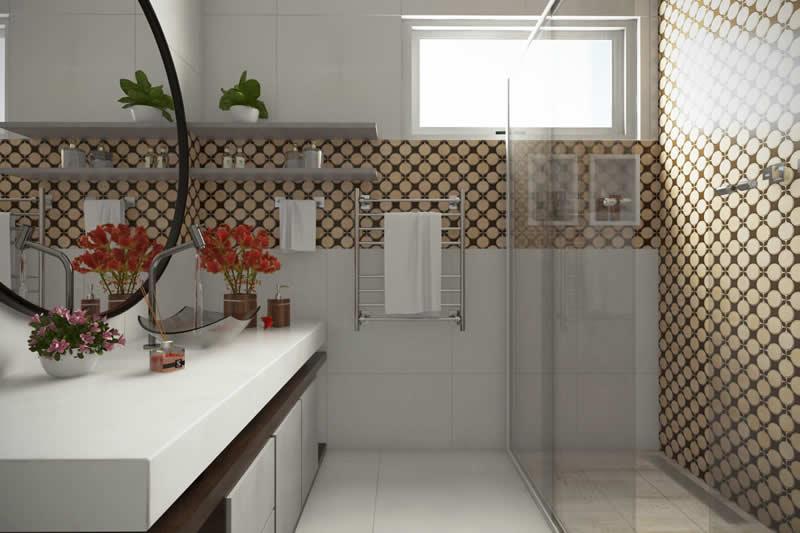 Banheiro contemporâneo