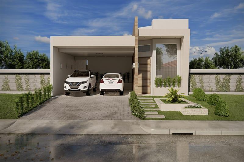 Planta de casa com rea de lazer projetos de casas for Casa moderna sketchup download