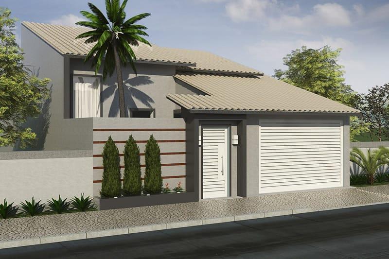 Casa Com P 233 Direito Alto E 225 Rea De Luz Projetos De Casas