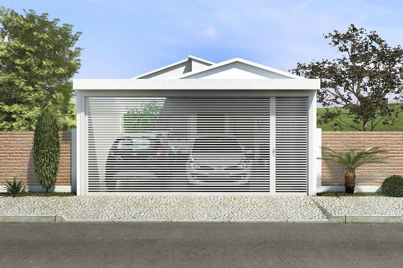 Planta de casa pequena e moderna projetos de casas for Casas modernas de 70m2