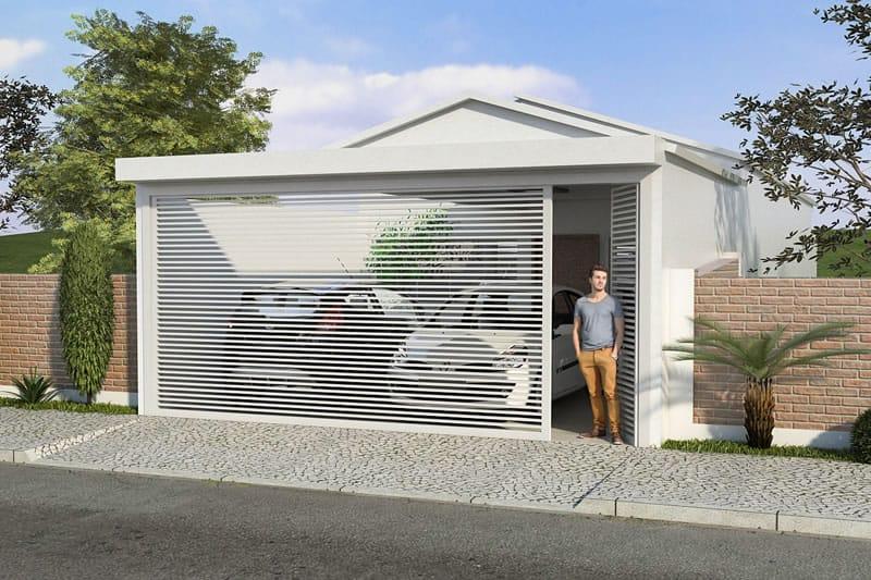 Planta de casa pequena e moderna projetos de casas for Fachadas casa modernas pequenas