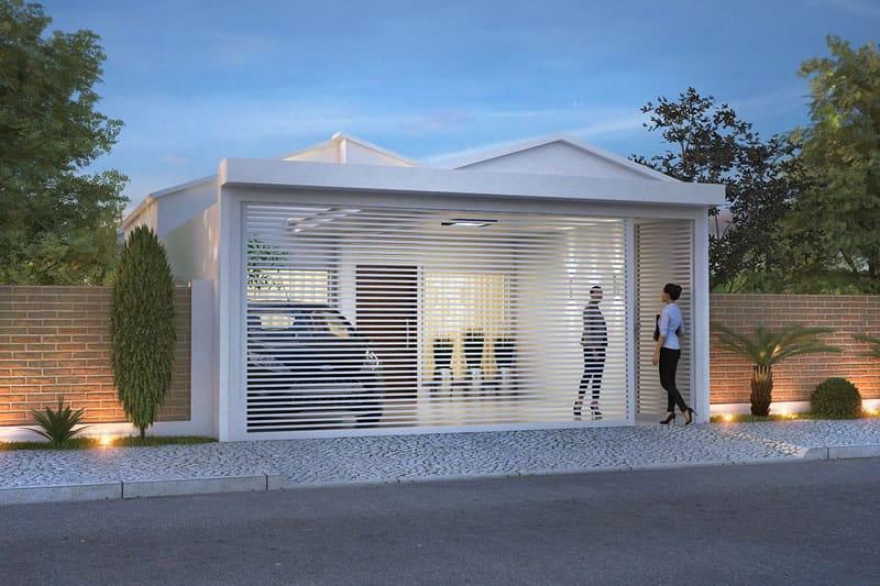 Planta de casa pequena e moderna projetos de casas for Fachadas de casas pequenas modernas de una planta