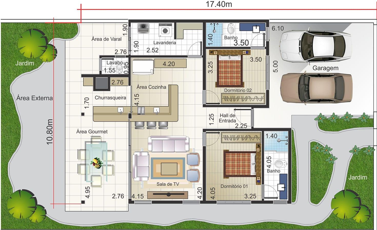 Imagens de #9CB314 Planta de casa térrea rústica Projetos de Casas Modelos de Casas  1470x898 px 3408 Bloco Cad Banheiro Vista Frontal