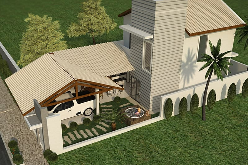 Planta de casa barata projetos de casas modelos de for Casas para jardin baratas