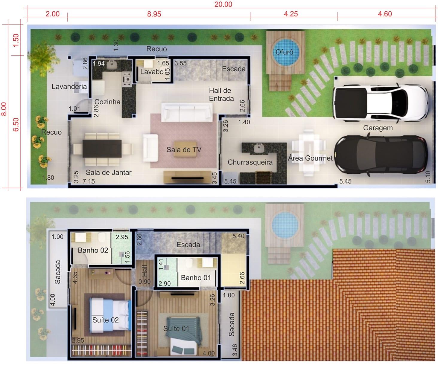 Planta De Casa Barata Projetos De Casas Modelos De