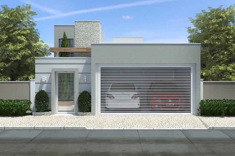 Planta De Casa Pequena Com 3 Quartos Projetos De Casas