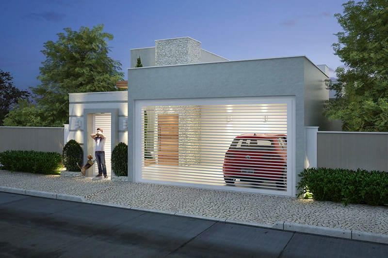 Planta de casa pequena com 3 quartos projetos de casas modelos de casas e fachadas de casas for Casas pequenas modelos
