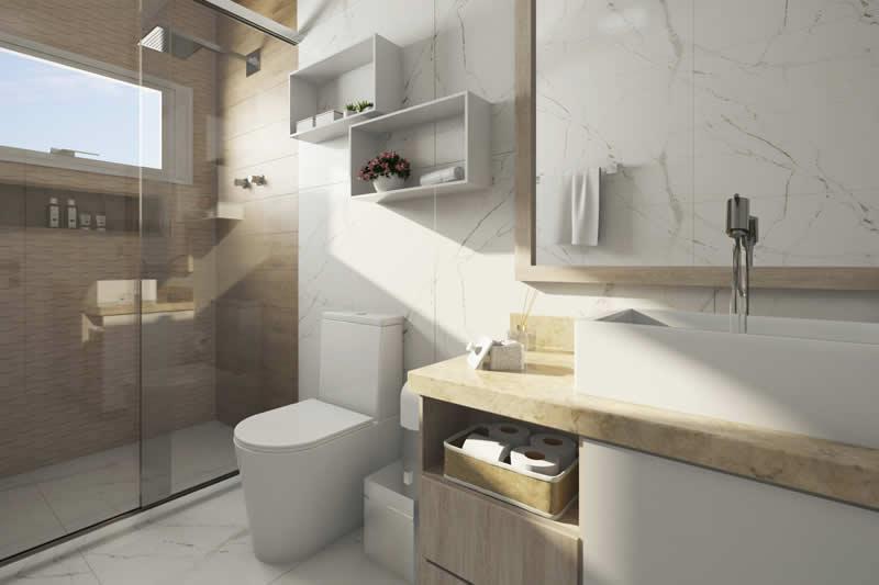 Banheiro para jovens