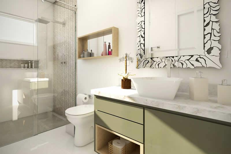 Banheiro claro