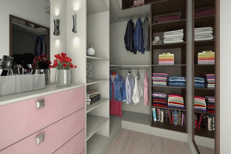 Closet amplo