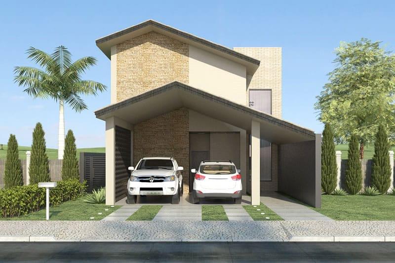 Planta de casa de campo projetos de casas modelos de for Modelos de casas de campo modernas