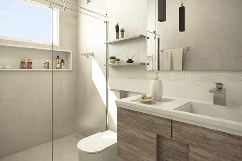 Banheiro neutro
